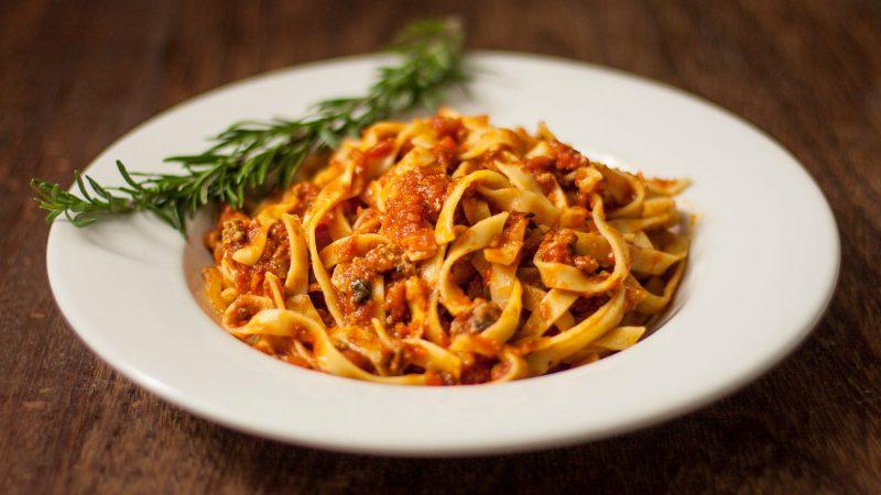 Italian pasta lunch at Anima